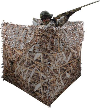abri de chasse camouflage