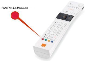 acheter telecommande orange