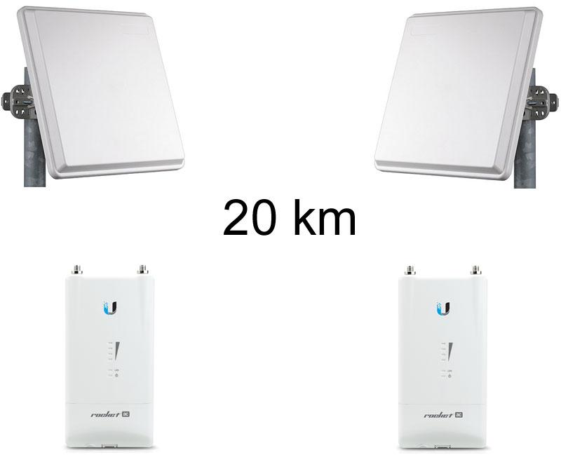 antenne wifi longue portée 10 km
