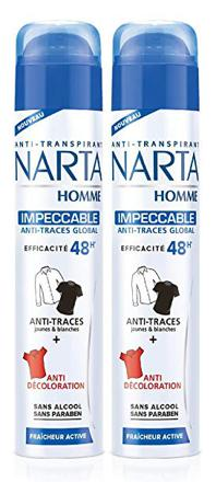 anti transpirant homme