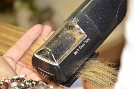 appareil fourche cheveux