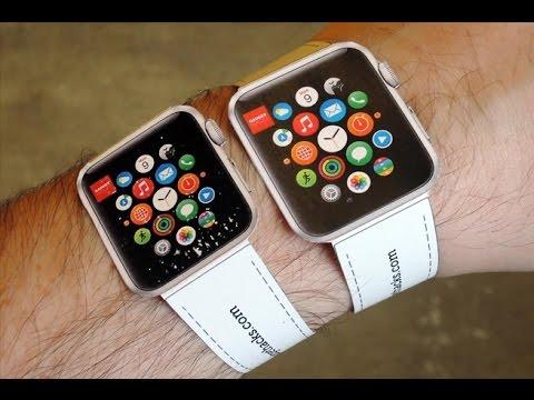 apple watch 38mm ou 42mm