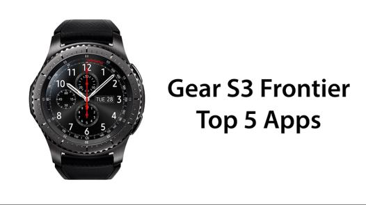 application samsung gear s3