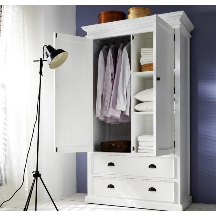 armoire en bois massif pas cher