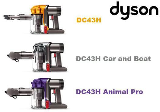 aspirateur main dyson dc43h