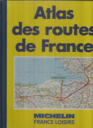 atlas des routes de france