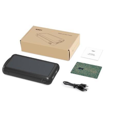 aukey chargeur solaire portable 20000mah
