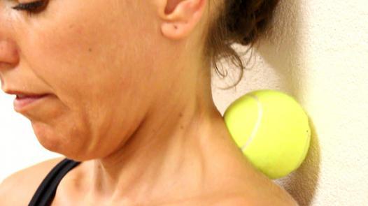 auto massage des cervicales