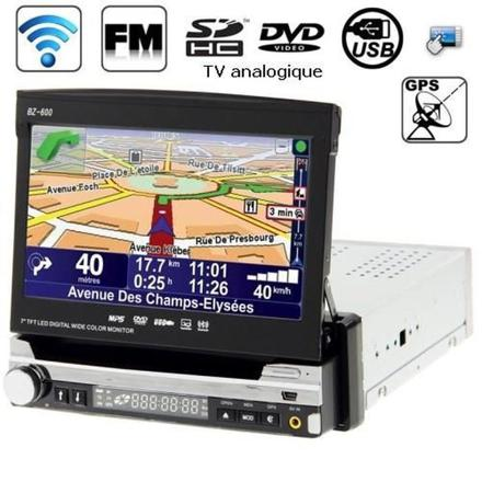 autoradio gps telephone bluetooth