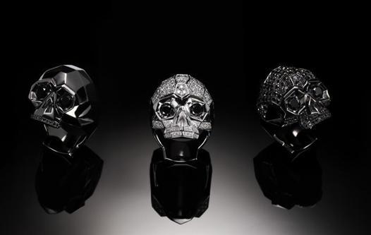 bague homme skull