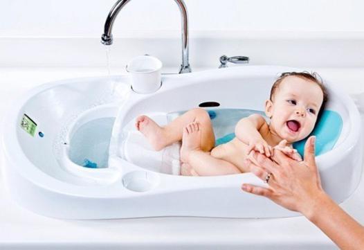 baignoire bébé pratique