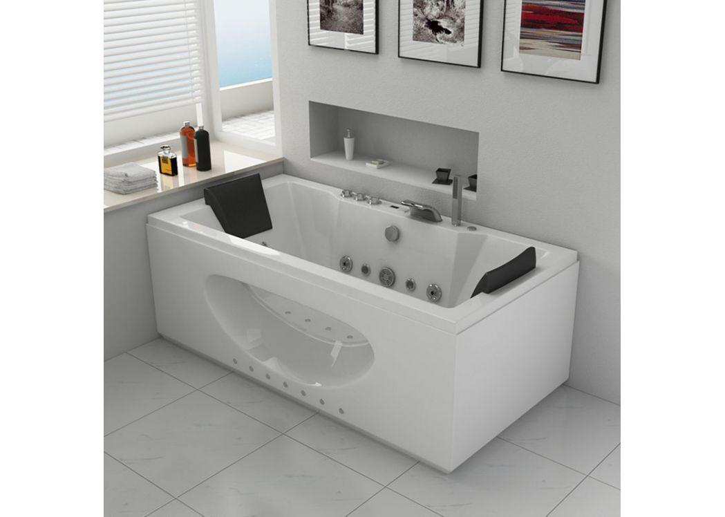 baignoire rectangulaire pas cher