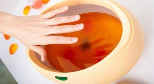 bain de cire pour les mains