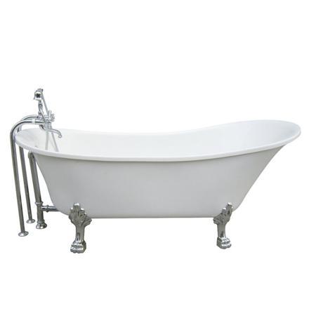 bain sur pied