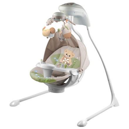 balancelle bébé electrique