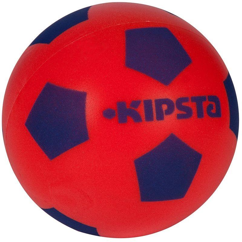 ballon foot rouge
