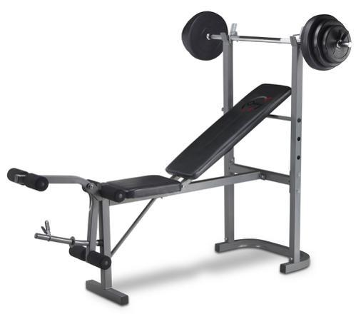 banc de musculation barre