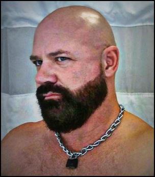 barbe chauve