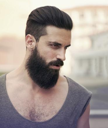 barbe cheveux