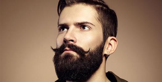 barbe fournie