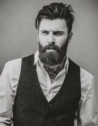 barbe hipster