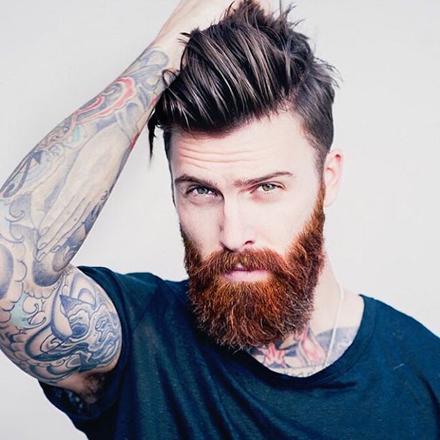 barbe homme modele