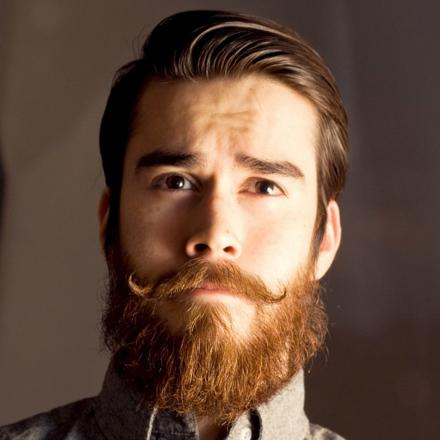 barbe moustache style