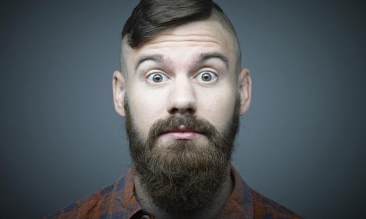 barbe plus epaisse