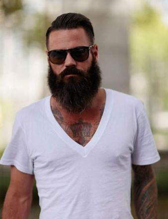 barbe pointue