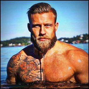 barbe testostérone