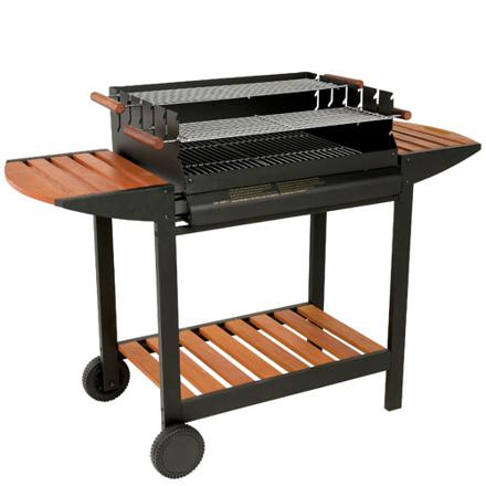 barbecue a bois