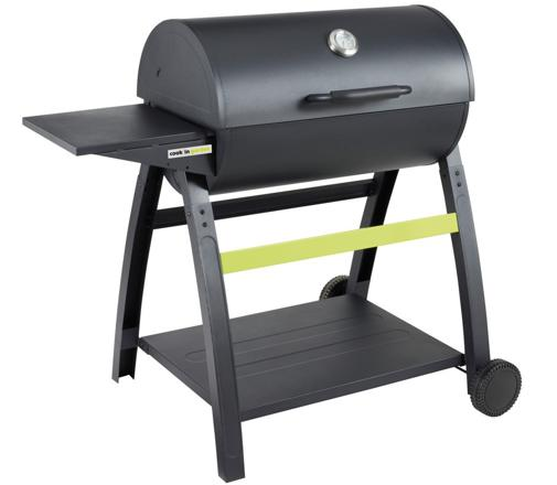 barbecue bois et charbon
