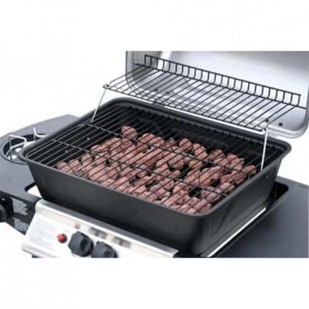 barbecue gaz avec pierre de lave