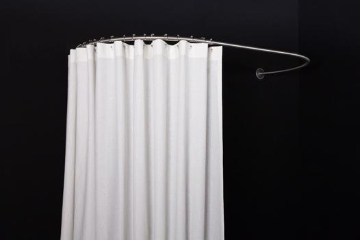 barre de rideau de baignoire