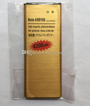 batterie note 4 haute capacité