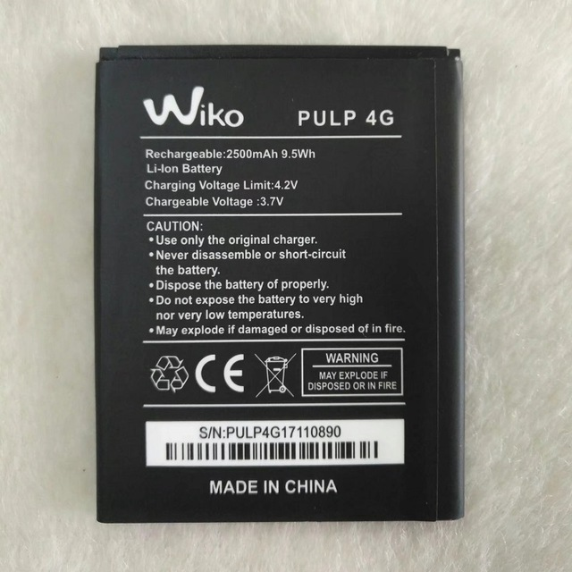 batterie wiko pulp 4g