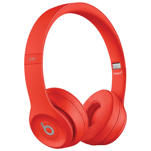 beats solo 3 wireless rouge