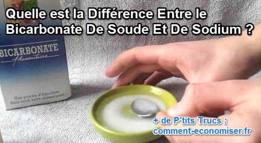 bicarbonate de soude bicarbonate de sodium