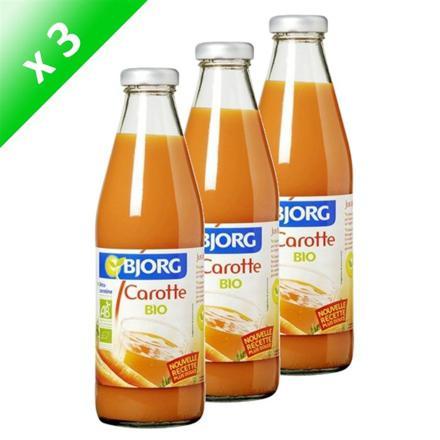 bienfait du jus de carotte en bouteille