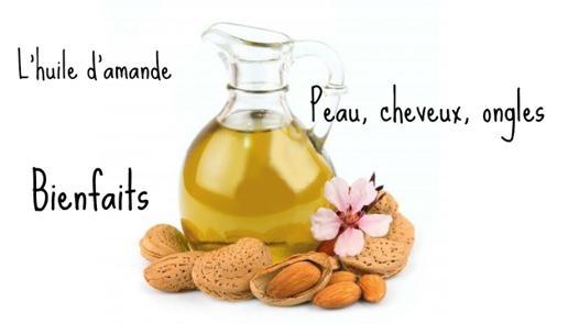 bienfait huile amande douce