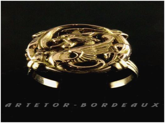 bijoux dragon d or