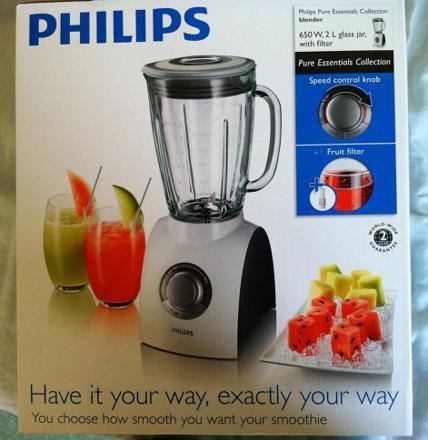 blender philips recette
