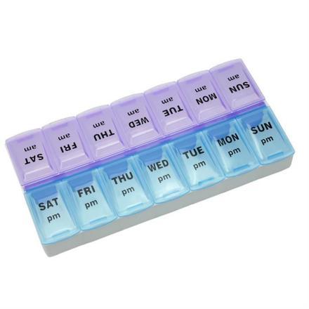 boite à médicaments hebdomadaire