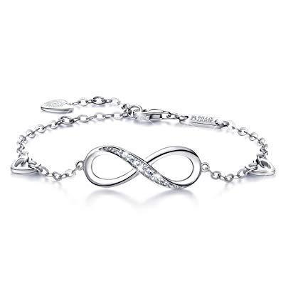 bracelet avec signe infini