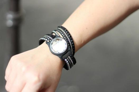 bracelet connecté swarovski