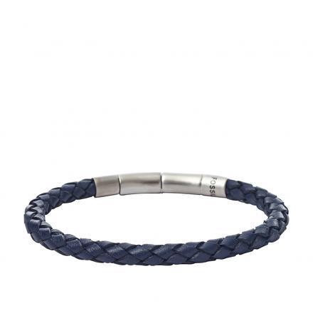 bracelet cuir fossil homme