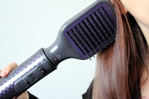 brosse à cheveux soufflante