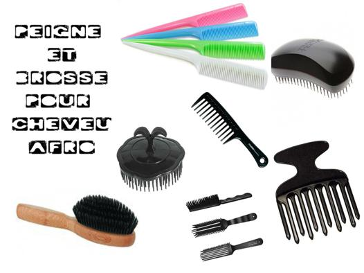 brosse cheveux afro