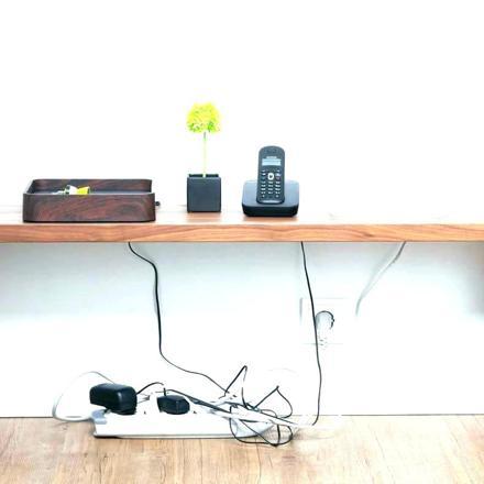 cache cable pour bureau