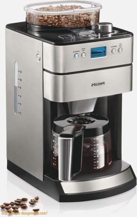 cafetiere qui moud le cafe en grains